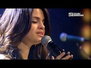 (HD) Selena Gomez & the Scene - The Way I Loved You (MTV Session) Live Session Video (HD)