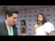 Selena Gomez and Demi Lovato on the Red Carpet
