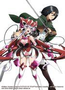 Chris & Mikasa Official Arts