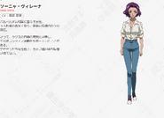 Symphogear AXZ Character Profile (Sonia)