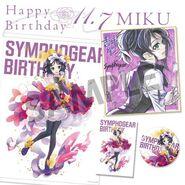 Symphogear Birthday 2019 Miku 1