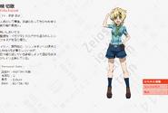Symphogear AXZ Character Profile (Kirika)