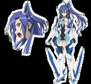 Tsubasa (Ame no Habakiri) Characters Design in G