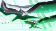 Kirika's transformation in GX 02