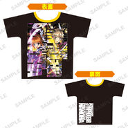 Nanoha Collabo Tshirt Hibiki & Nanoha