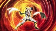 Hibiki's transformation in AXZ 08