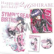 Symphogear Birthday 2019 Shirabe 1