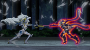 Saint-Germain and Hibiki clash
