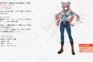 Symphogear AXZ Character Profile (Maria)