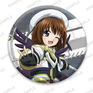 Nanoha Collabo Badges Hayate