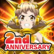 2nd Anniversary App Icon 1