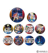 Amnibus Symphogear Series Badges 1