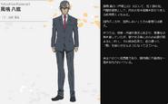 Symphogear XV Character Profile (Yatsuhiro)