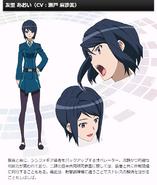 Symphogear G Character Profile (Aoi)
