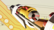 Hibiki's transformation in AXZ 03