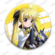 Nanoha Collabo Badges Fate