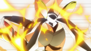 Hibiki's transformation in AXZ 05