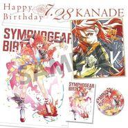 Symphogear Birthday 2019 Kanade 1