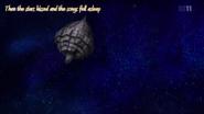 Frontier's control room float in space