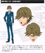Symphogear G Character Profile (Sakuya)