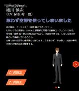 Symphogear XDU Character Profile (Shinji)