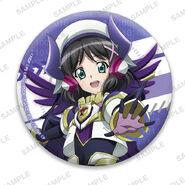 Nanoha Collabo Badges Miku