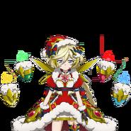 Carol's Christmas faust robe