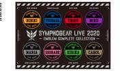 Live 2020 Custom patch complete set for Uniform