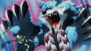 Elsa Full Transformation into Metal Wolf 2