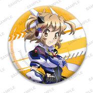 Nanoha Collabo Badges Hibiki