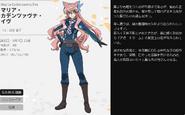 Symphogear XV Character Profile (Maria)
