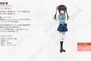 Symphogear AXZ Character Profile (Shirabe)