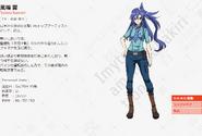 Symphogear AXZ Character Profile (Tsubasa)