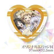 Hibiki Birthday Badge