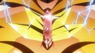 Hibiki's transformation in XV 07