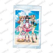 Akib@ko Acrylic Stand Summer Sand Play