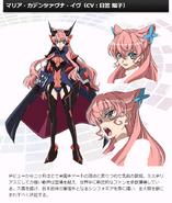 Symphogear G Character Profile (Maria)