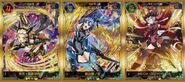 XDU Special Stage in Tokyo Game Show 2018 Card Sticker Set A