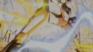 Hibiki's transformation in XV 03
