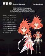 Symphogear Character Profile (Kanade)