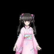 Shirabe's New Year Kimono Art