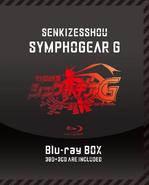 Symphogear G Blu-ray Box Cover