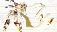 Hibiki's transformation in GX 06
