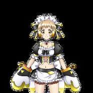 Hibiki's Maid Gear Art
