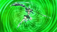 Kirika's transformation in XV 14