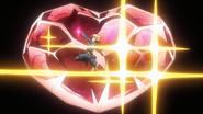 Hibiki's pre-transformation in XV 01