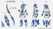 BAYONET CHARGE Tsubasa Concept Art