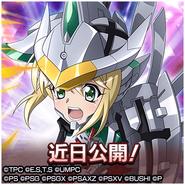 Hajikeru Hikari to Seigi no Sanka Kirika Official Art