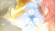 Yatsuhiro's and Kanade's Spirits with Tsubasa