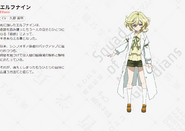 Symphogear AXZ Character Profile (Elfnein)